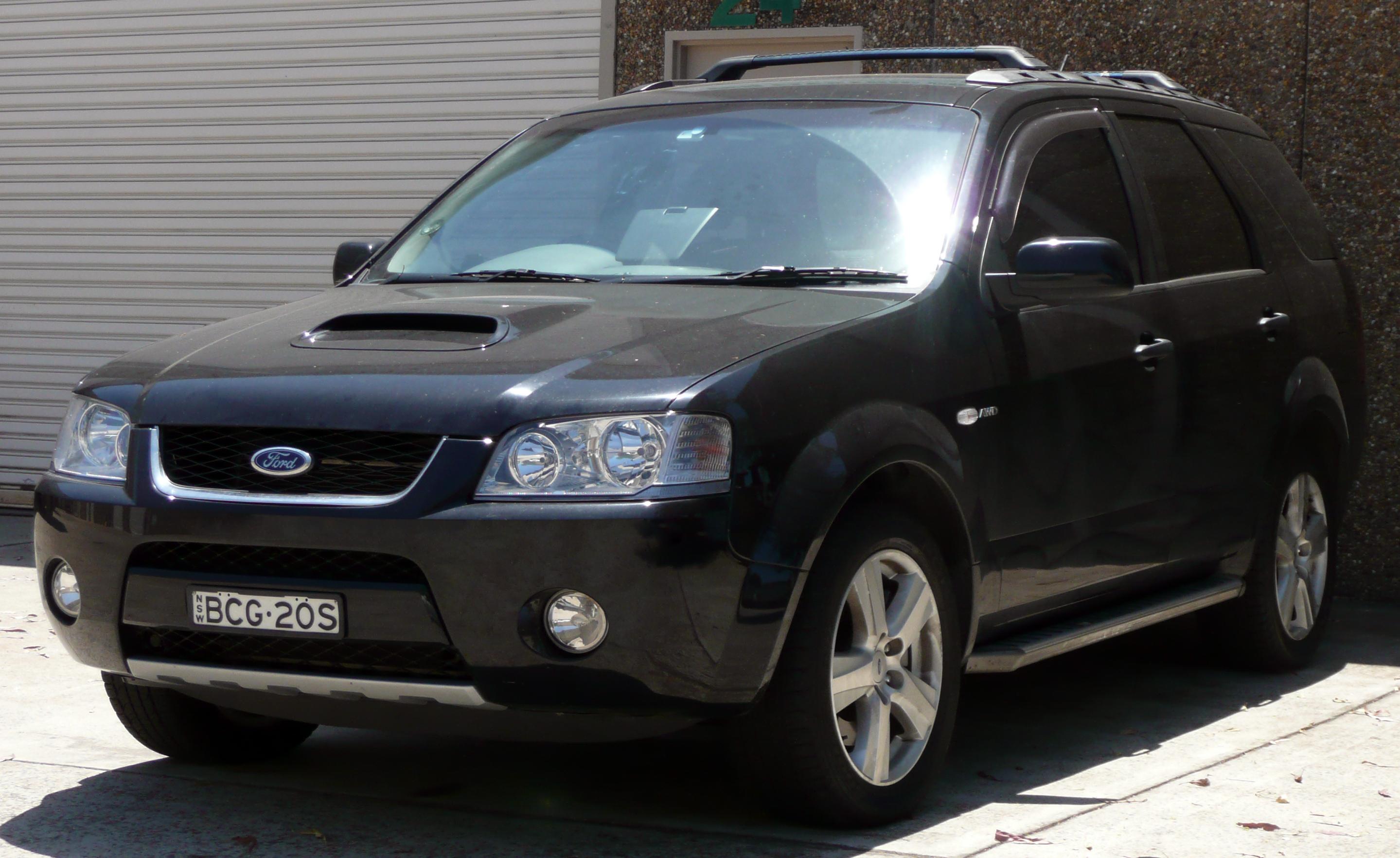 2007 ford territory ghia