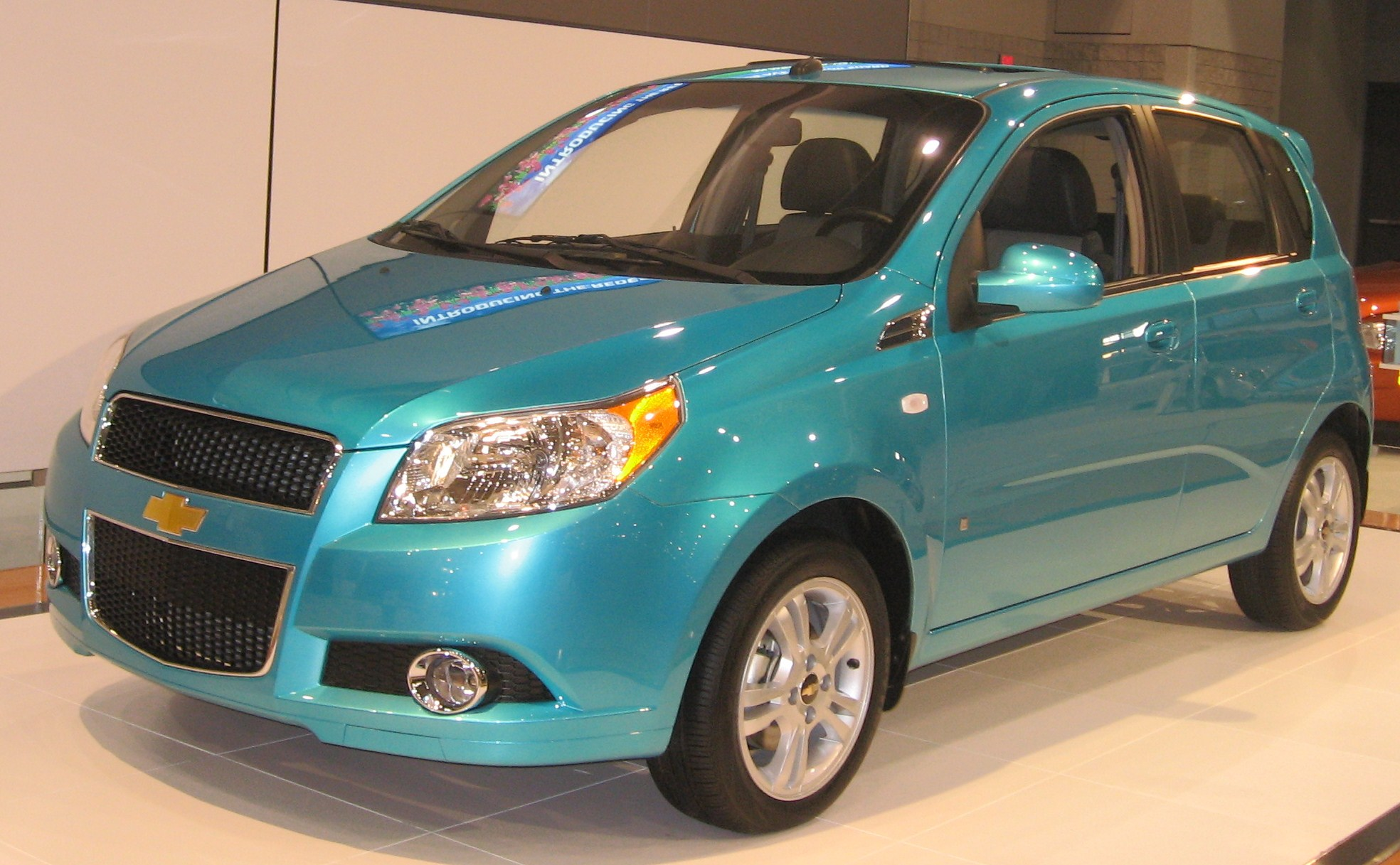 file 2009 chevrolet aveo5 front dc jpg wikimedia commons. Black Bedroom Furniture Sets. Home Design Ideas