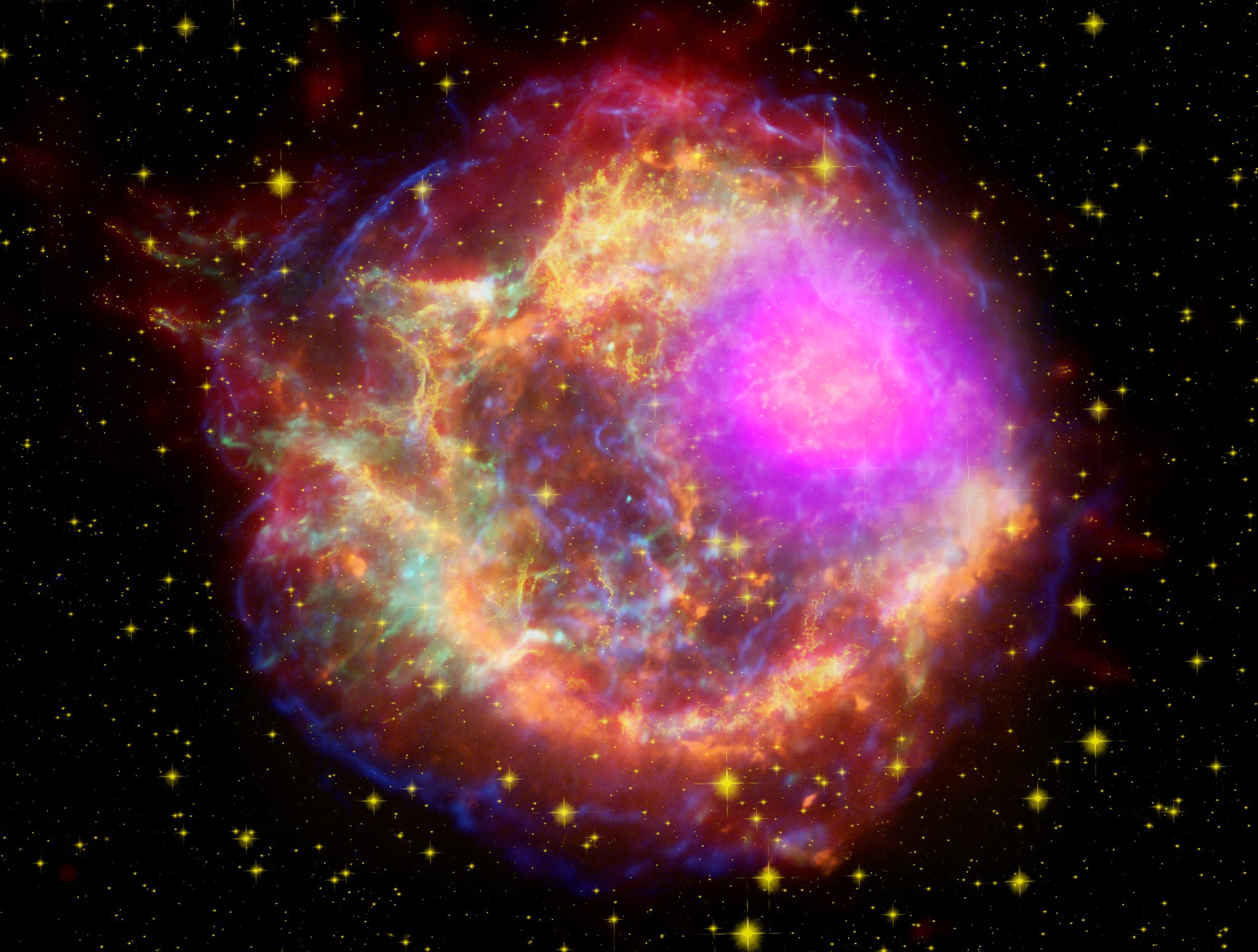 425985main_Cas_a_composite_unlabeled Verwunderlich Das Weltall ist Unendlich Dekorationen