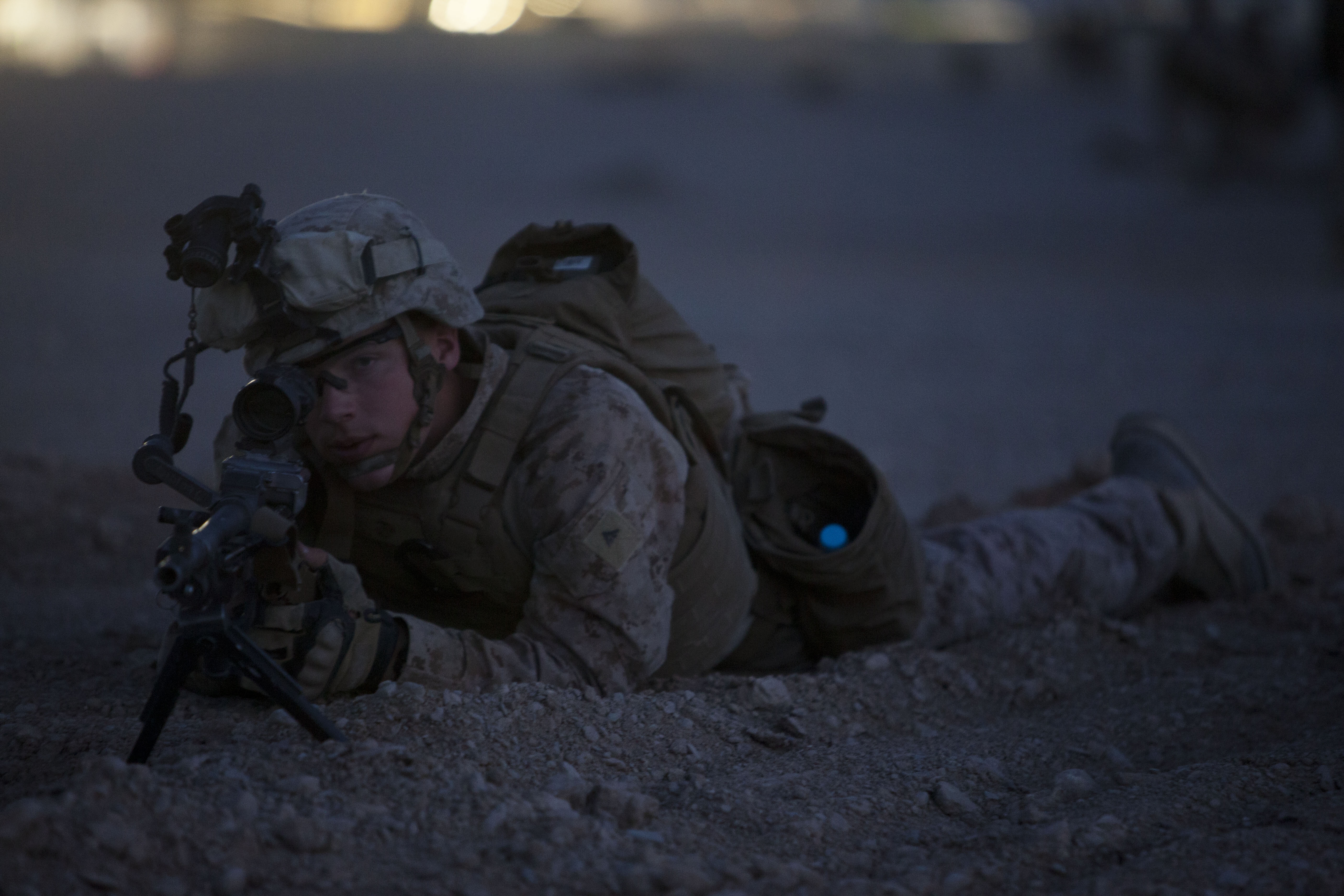 K Marine Viii File:A U.S. Marine wit...