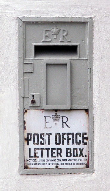 A redundant postbox - geograph.org.uk - 1121048.jpg