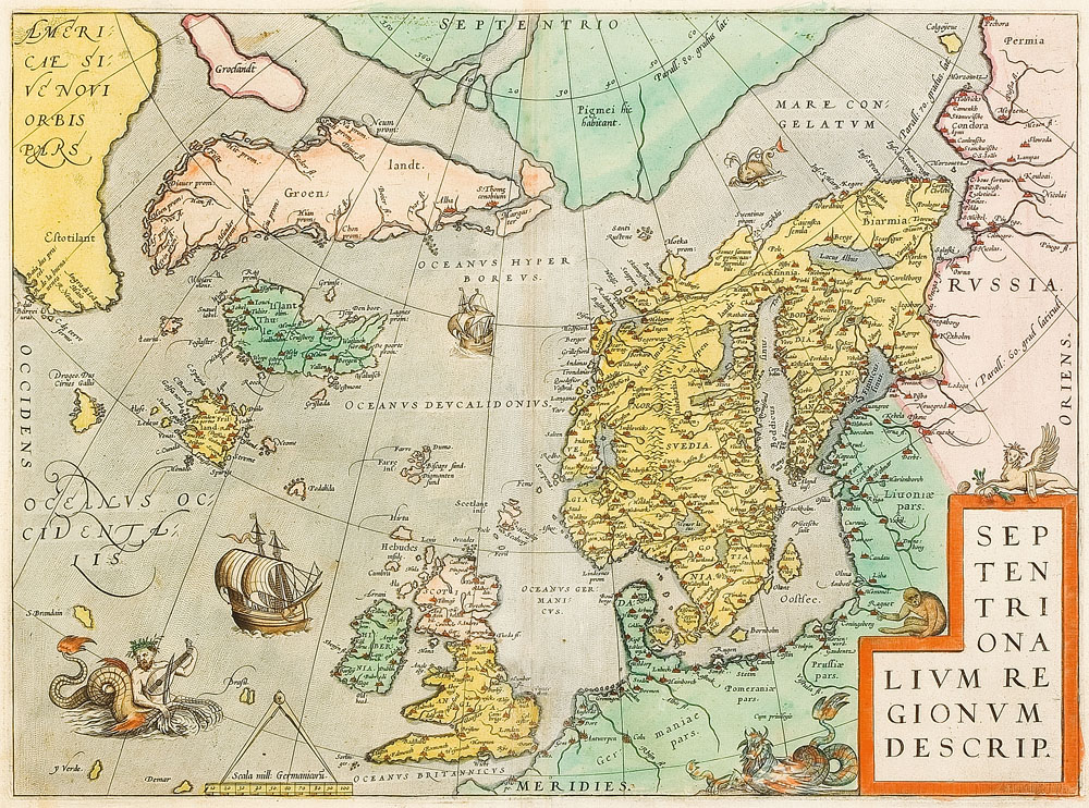 The Legacy of Thuban Omni-Science De Alpha Draconis Omega - Page 4 Abraham_Ortelius-Septentrionalium_Regionum_Descrip