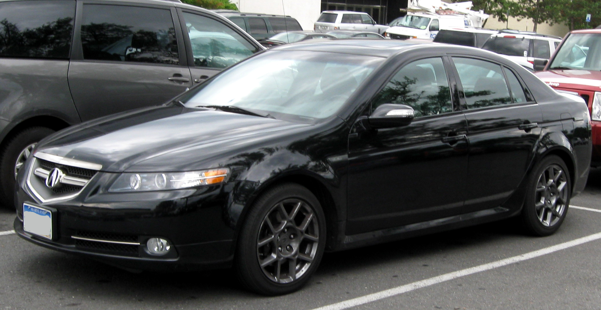 File:Acura TL Type S -- 08-21-2009.jpg - Wikimedia Commons