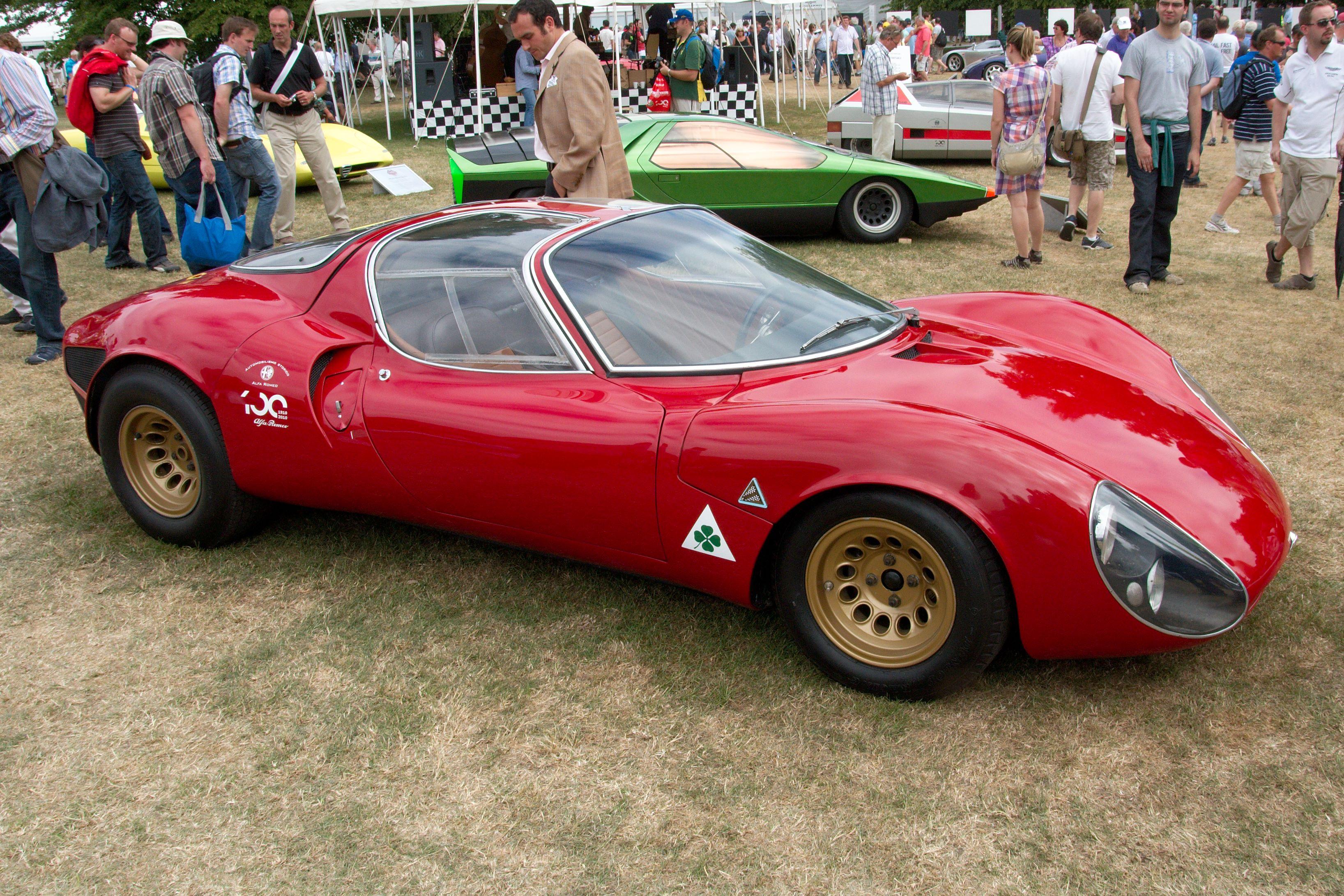 File:Alfa Romeo 33 Stradale 1967 - Flickr - andrewbasterfield (1).jpg - Wikimedia Commons