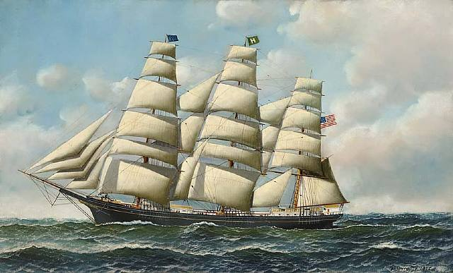 Antonio Jacobsen - American Tea Clipper
