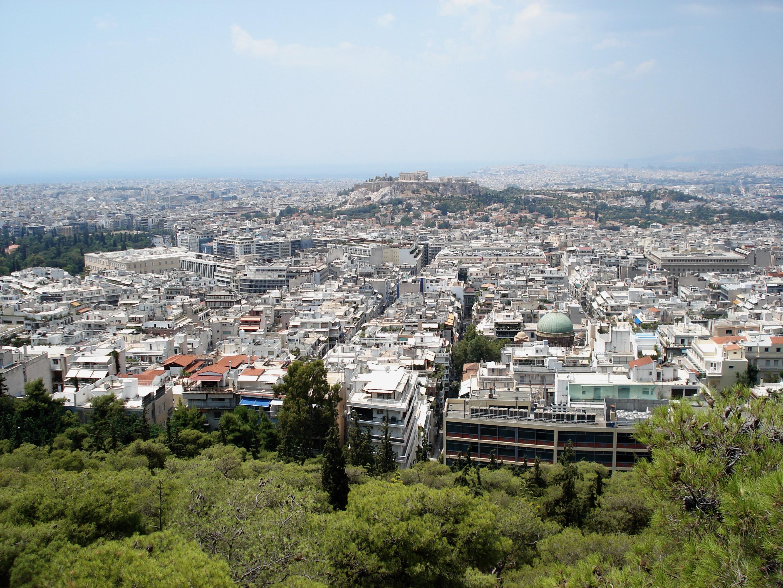 Vista de Atenas desde el Monte Licabeto