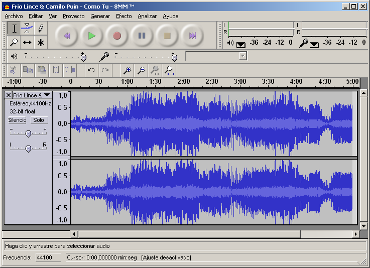 Use Audacity To Increase Natural Volume