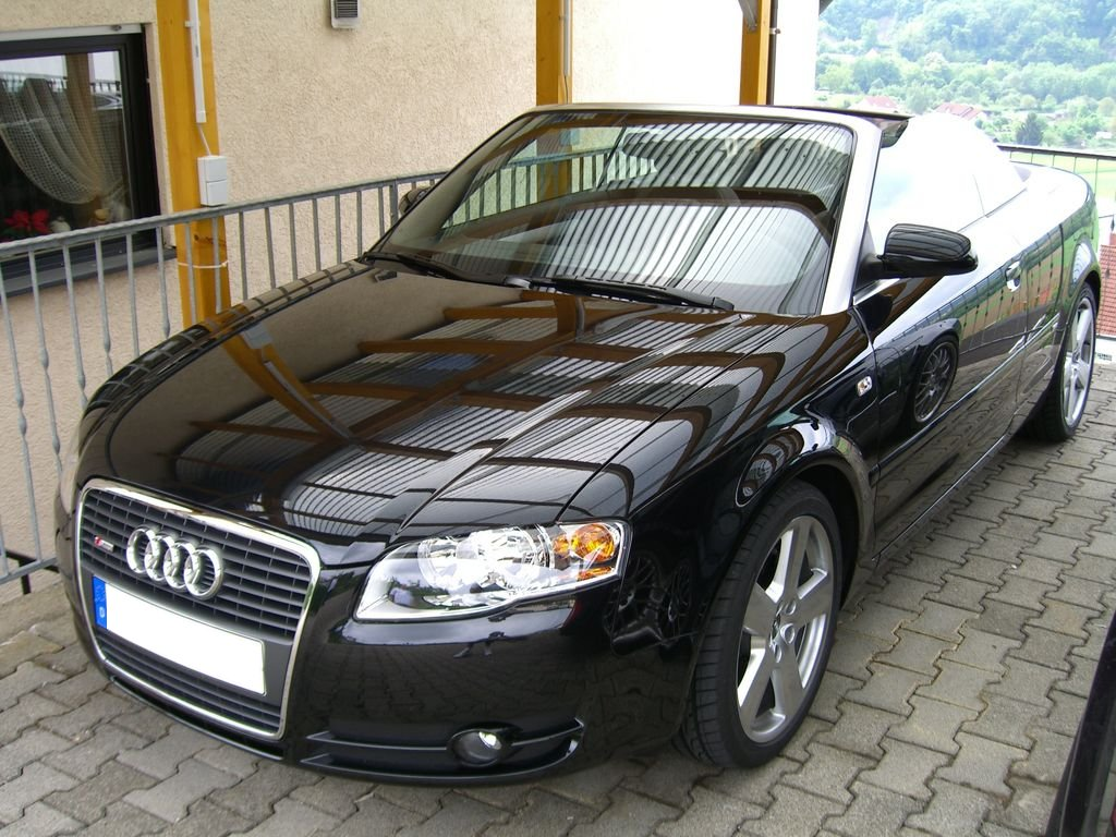 File Audi A4 B7 Cabriolet Front Jpg Wikimedia Commons