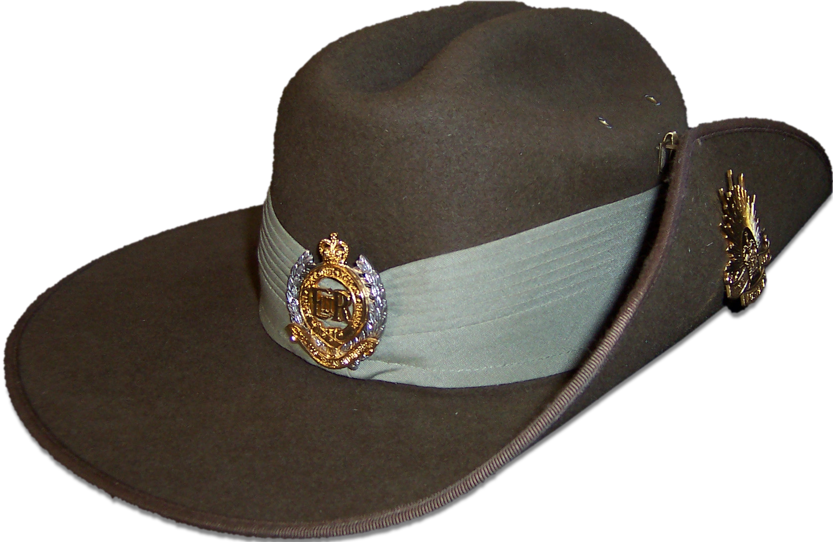 Description australian army ceremonial slouch hat