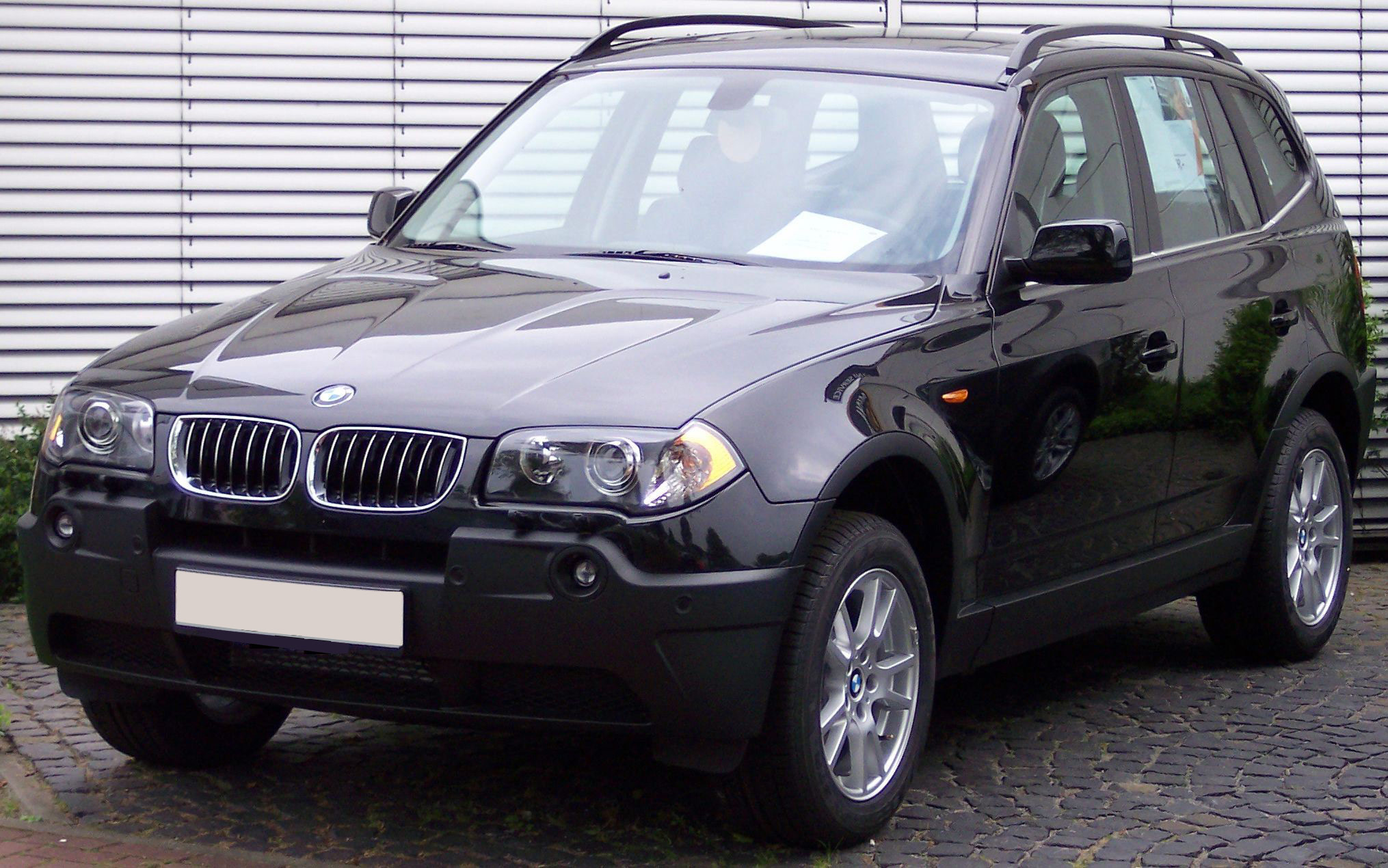 archivo bmw x3 black wikipedia la enciclopedia libre. Black Bedroom Furniture Sets. Home Design Ideas