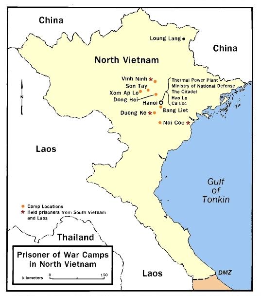 U.S. Prisoners Of War During The Vietnam War