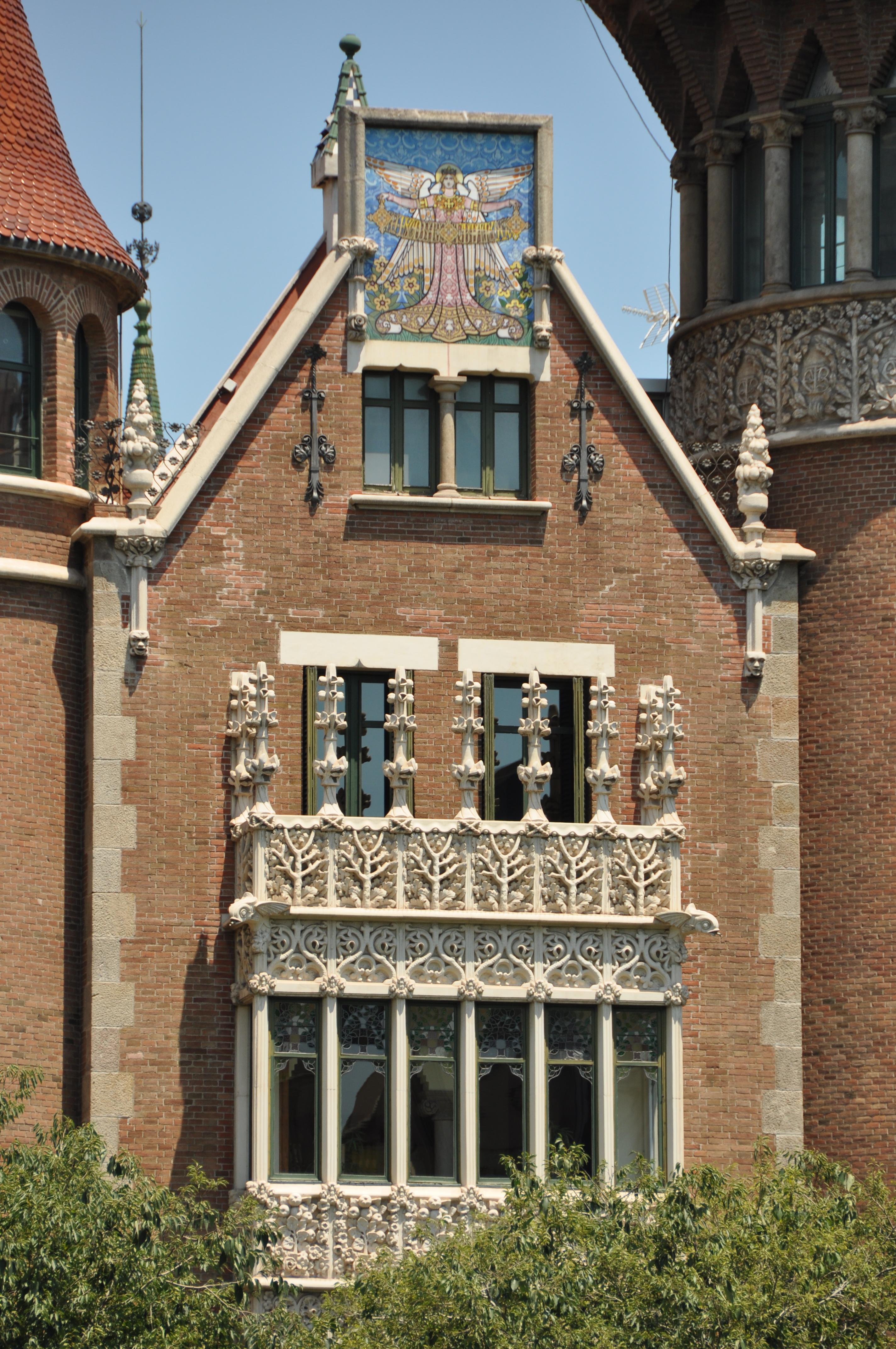 File barcelona eixample terrades house aka house of spires casa de les punxes 1903 1905 - Casa de las punxes ...