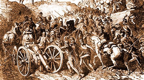 File Batalla De Pichincha Libre Jpg Wikimedia Commons