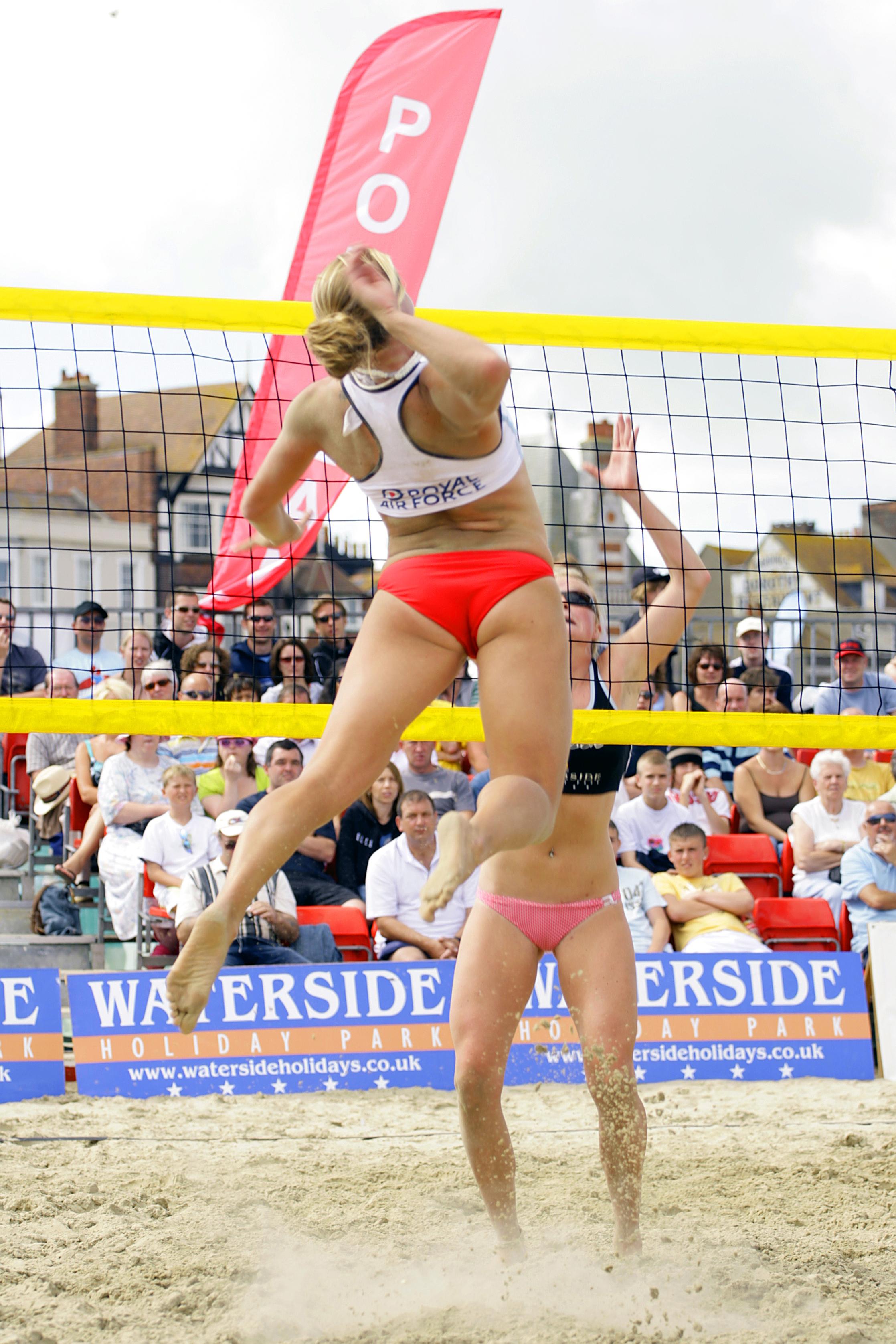 Damen Beachvolleyball