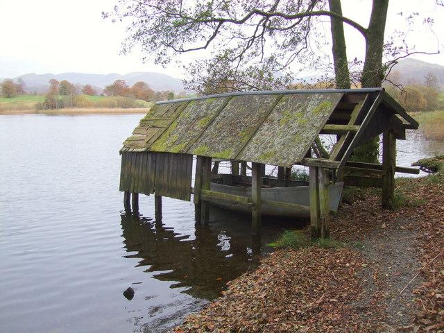 Boathouse on Blelham Tarn - geograph.org.uk - 617279