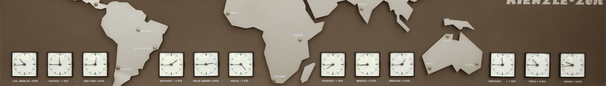 Time zones – Travel guide at Wikivoyage