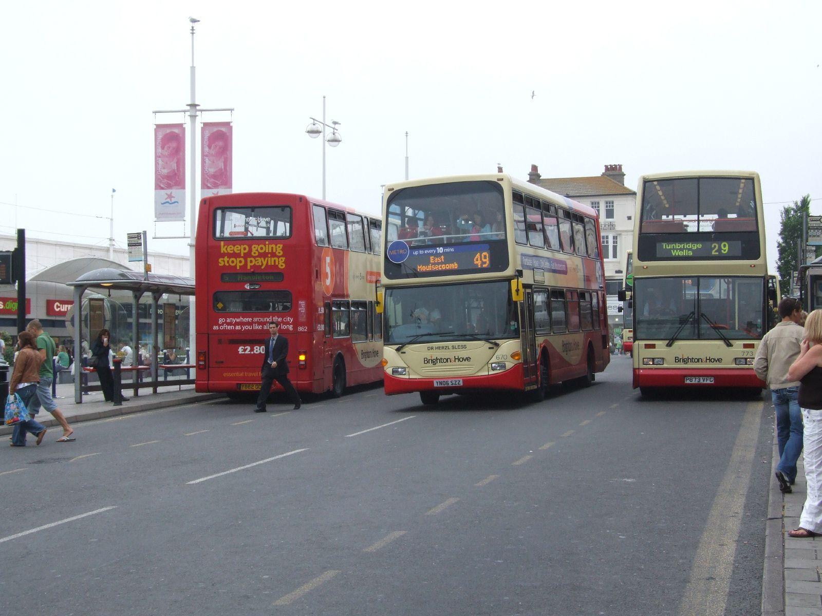 Brighton Şehir İçi Ulaşım