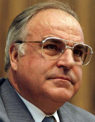 Depiction of Helmut Kohl