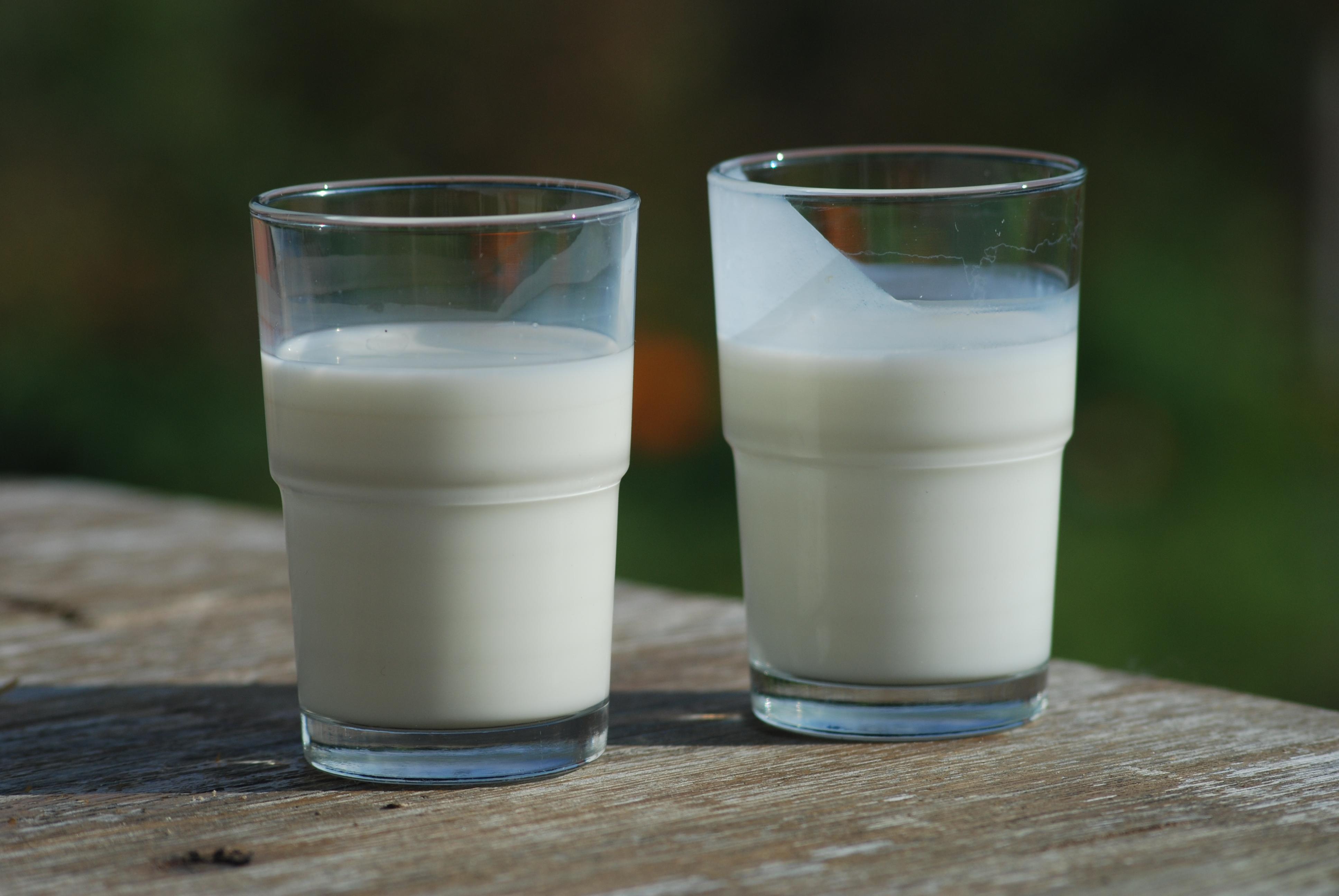 2 vasos de leche