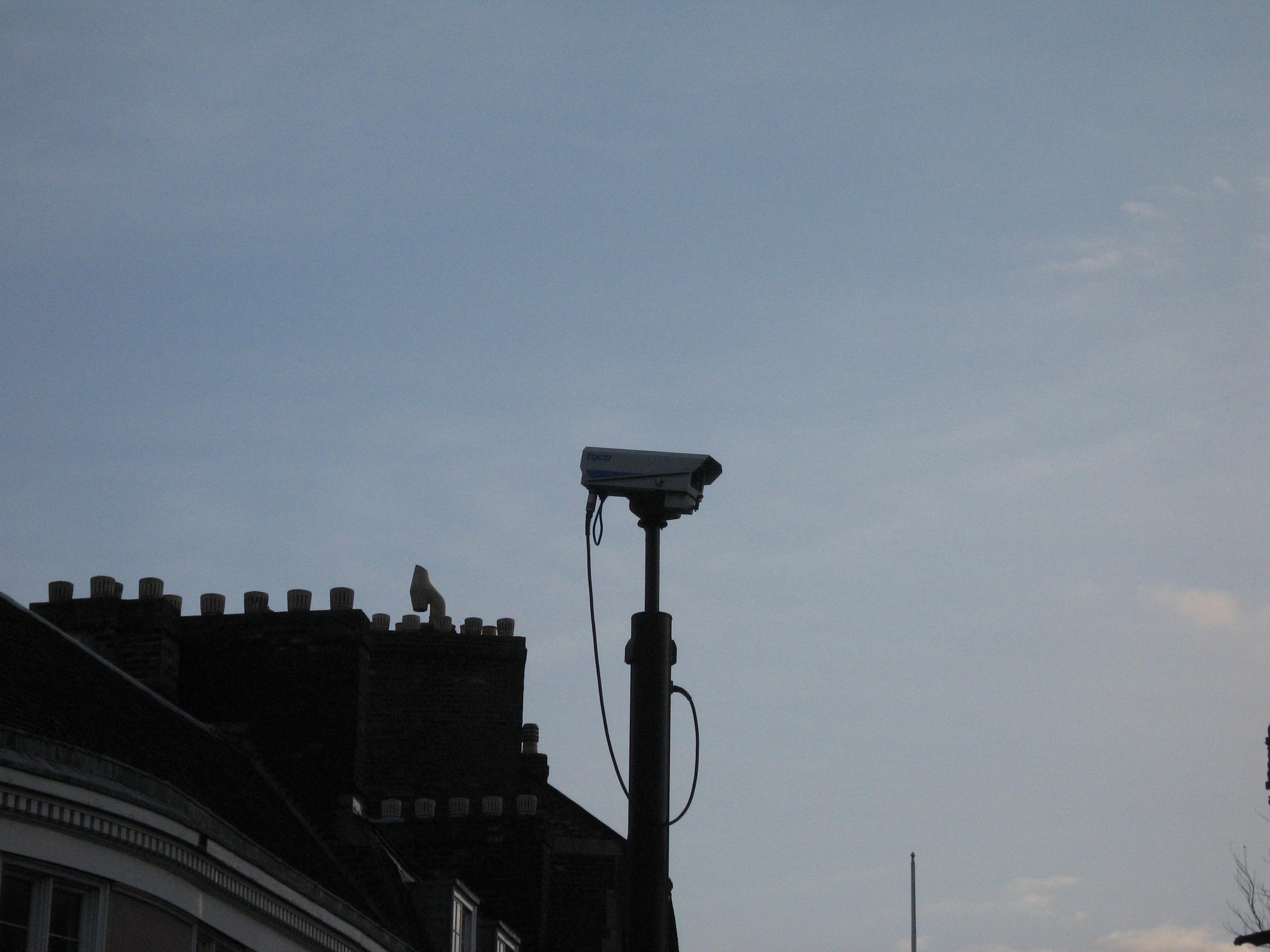 File:cctv Camera on Round