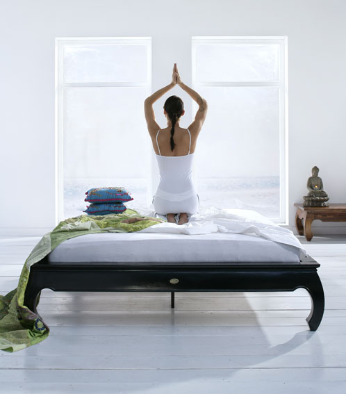 Yoga in Bed