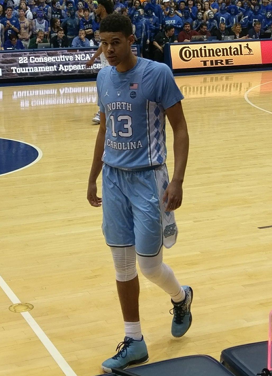 Cameron Johnson North Carolina Basketball Jersey - Black