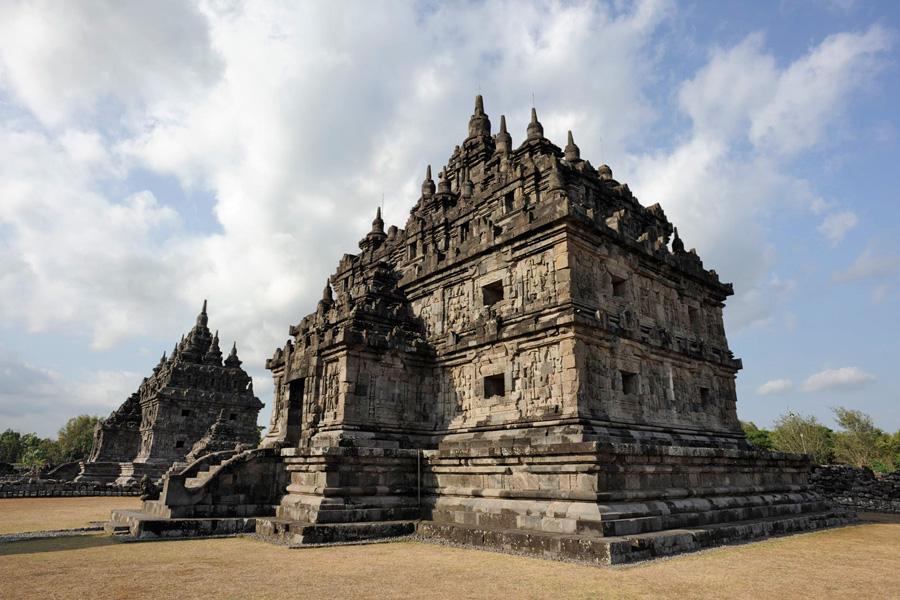 Candi Plaosan Klaten Central Java Indonesia Getaway