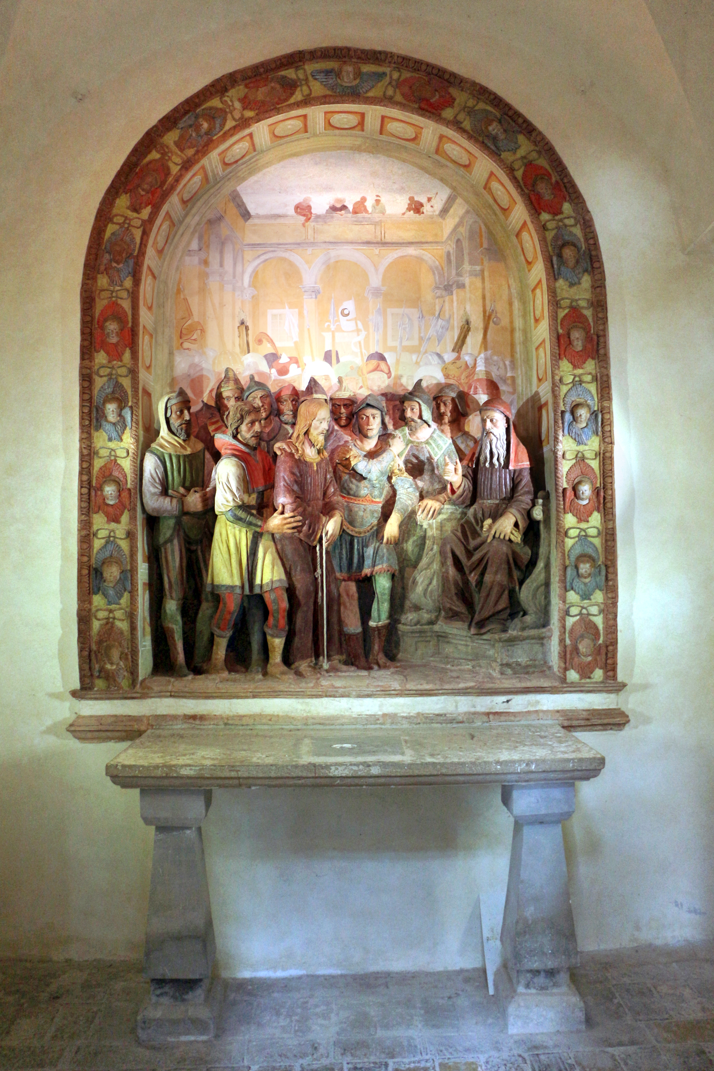File cappella della casa di anna ges davanti al sommo for Planimetrie della casa di piantagione