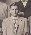 Charles Pillman with the British Isles team in 1910