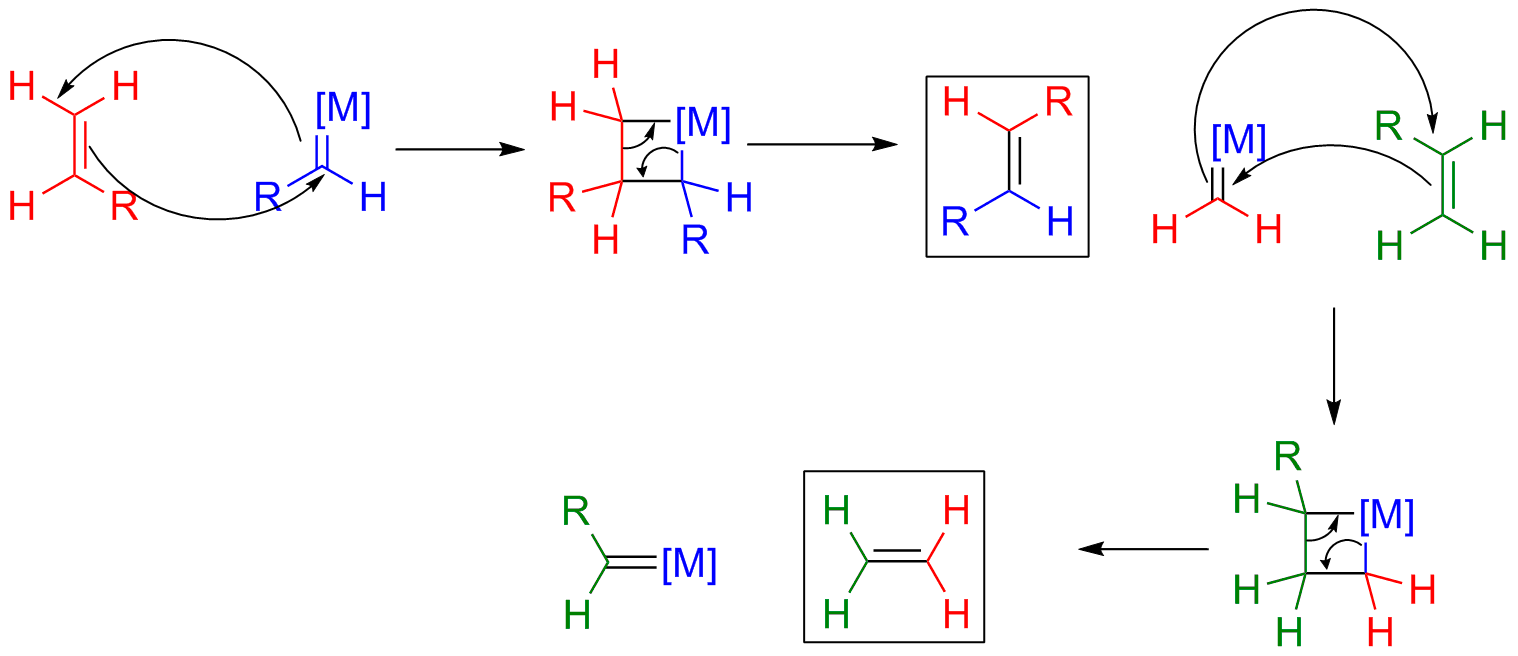 Metathesis olefin mechanism