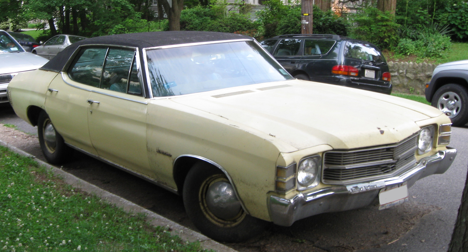 File Chevrolet Chevelle Sedan Jpg Wikimedia Commons