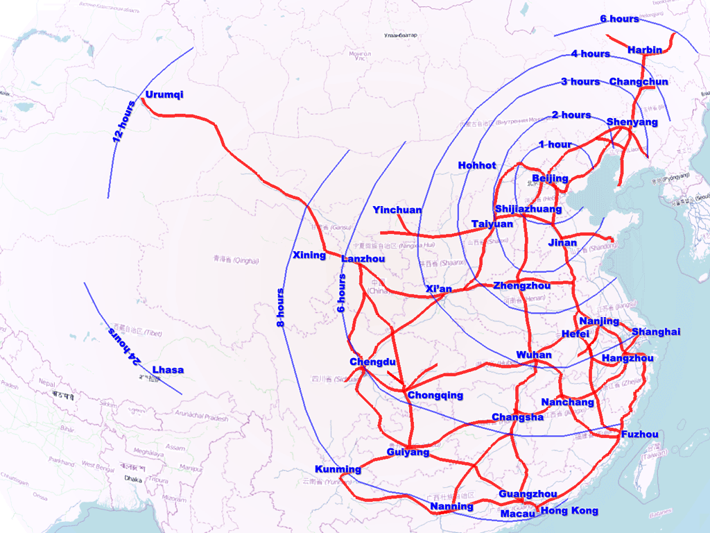 FileChina highspeed rail networkpng Wikimedia Commons