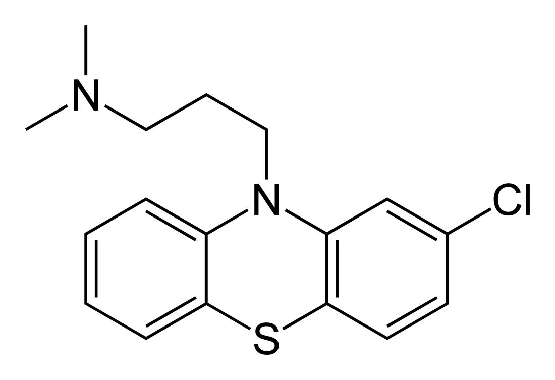Chlorpromazine-2D-skeletal.png