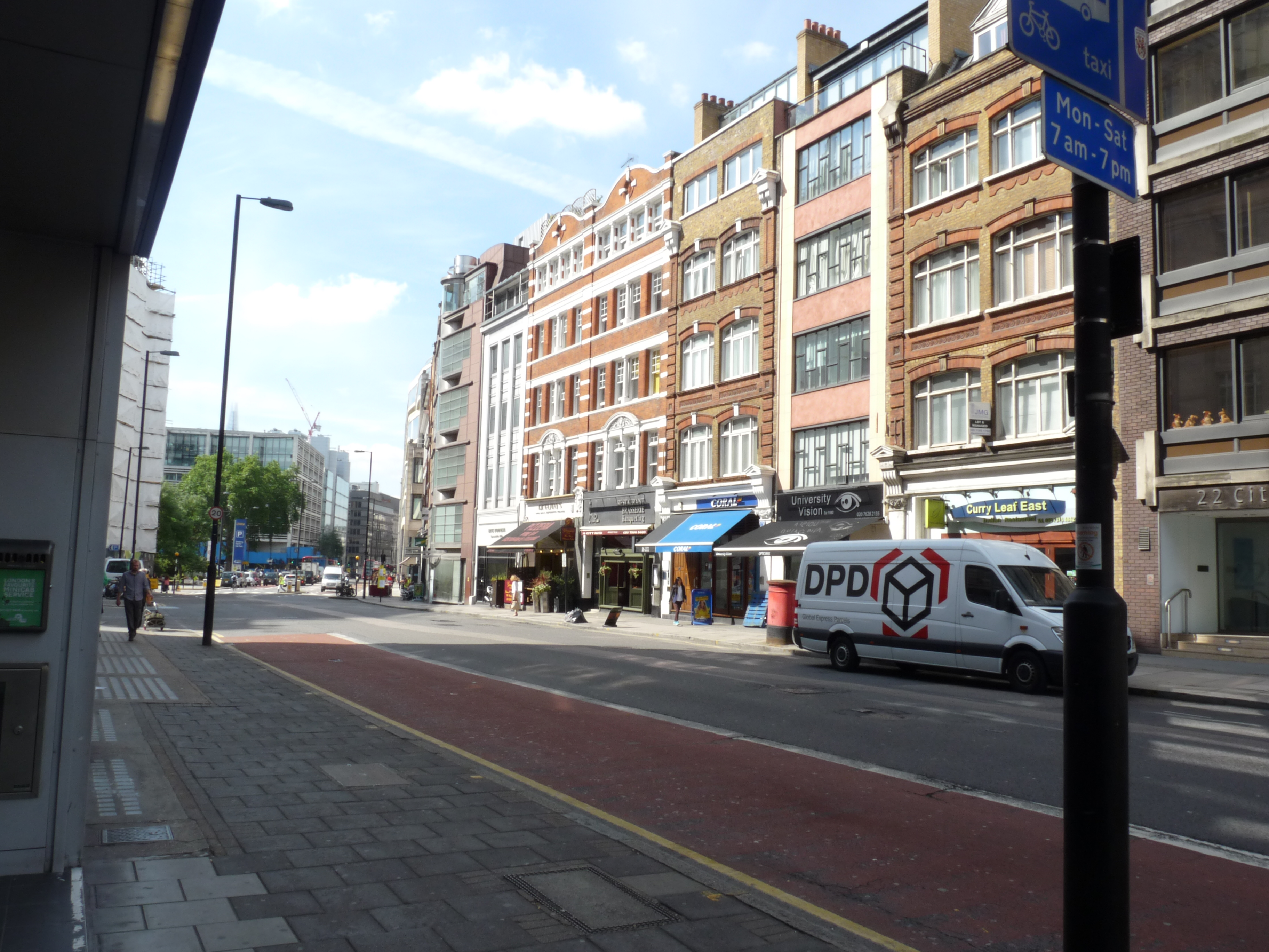 Travelodge London Central Liverpool Street Hotel