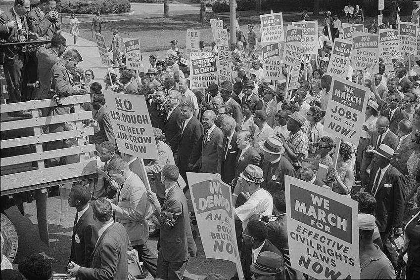 filecivil rights march on washington dcjpg