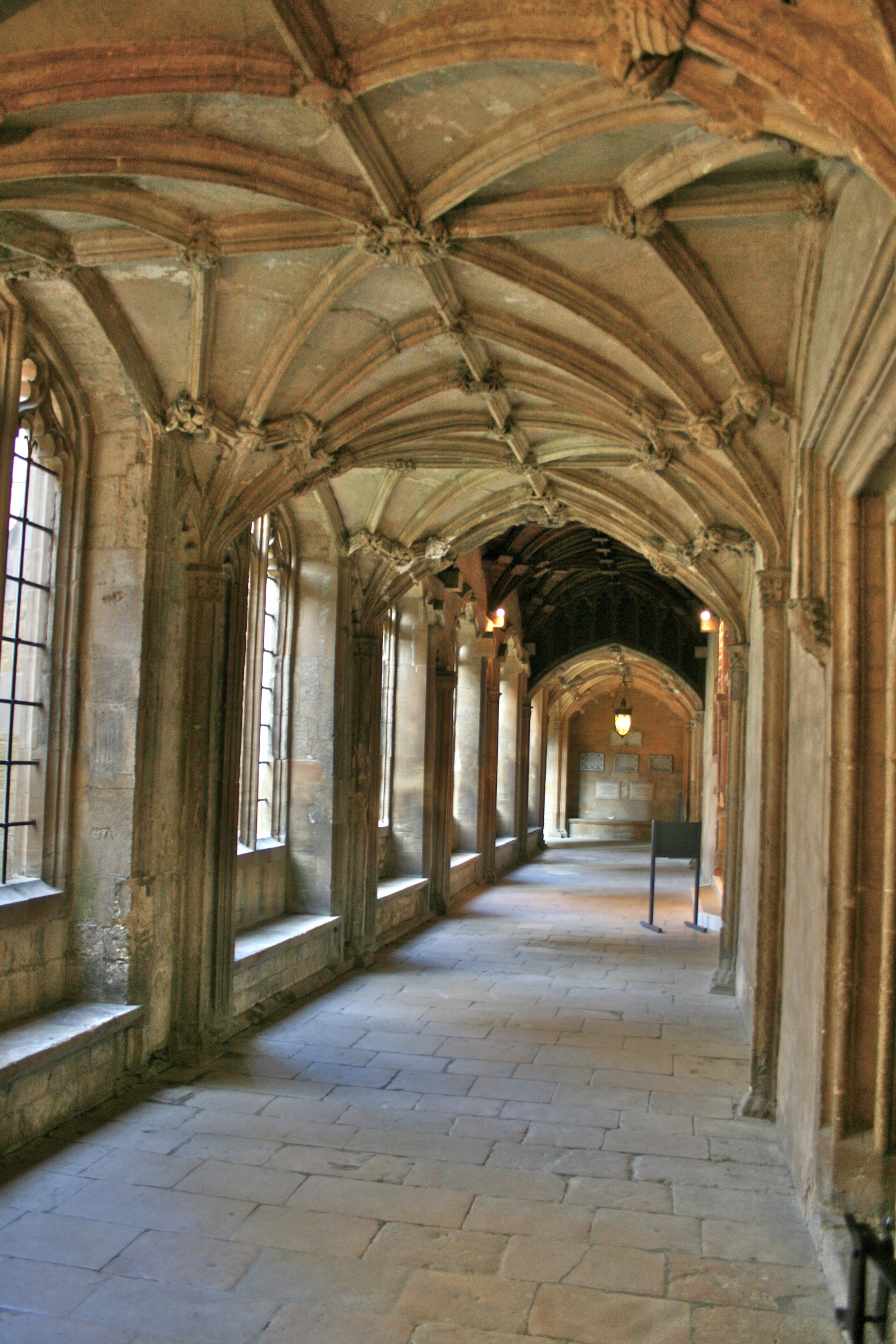 Architectural Plan File Corridor At Christ Church Oxford Jpg Wikimedia Commons