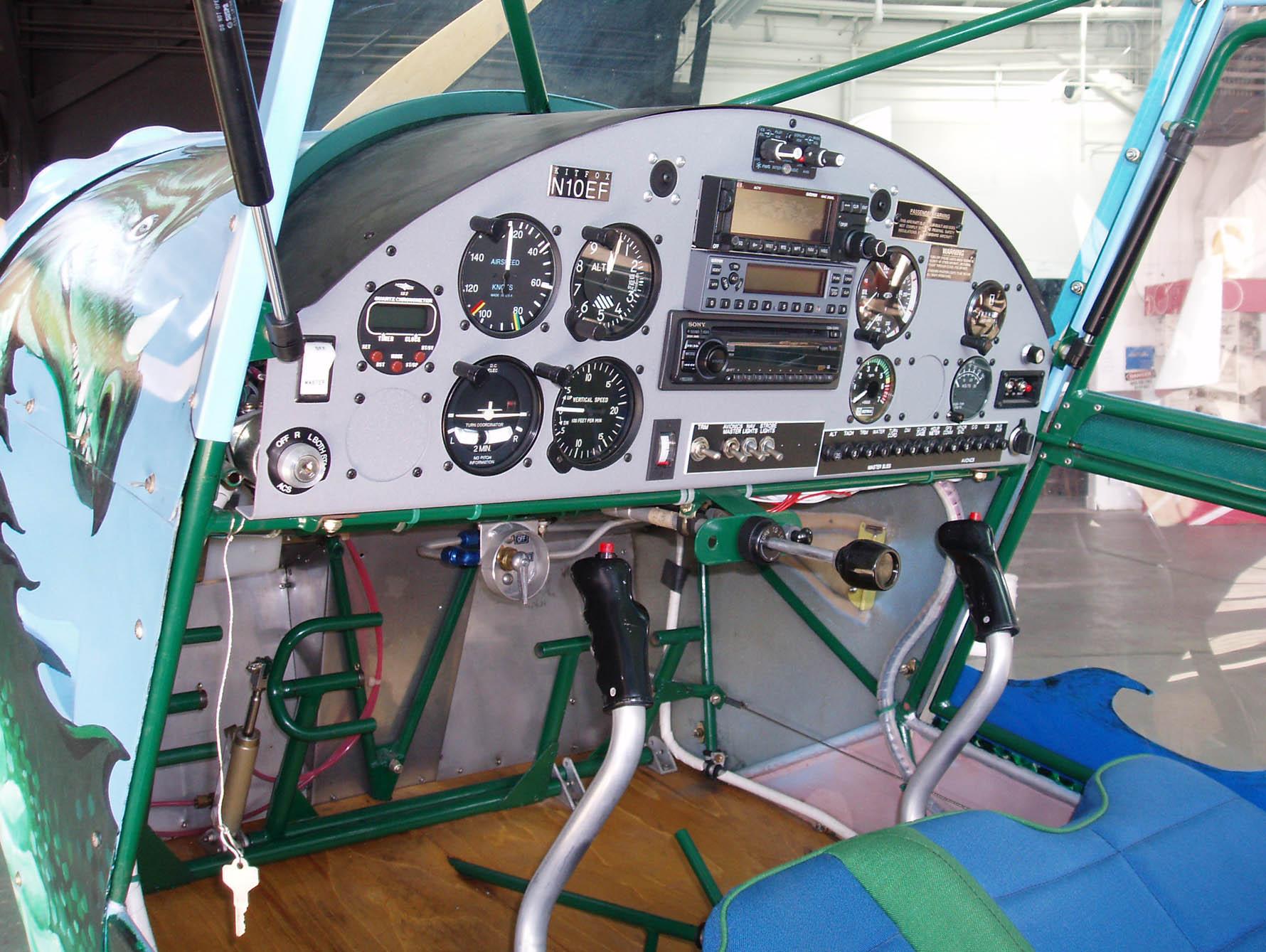 File:Denney Kitfox Cockpit (4419377370) jpg - Wikimedia Commons