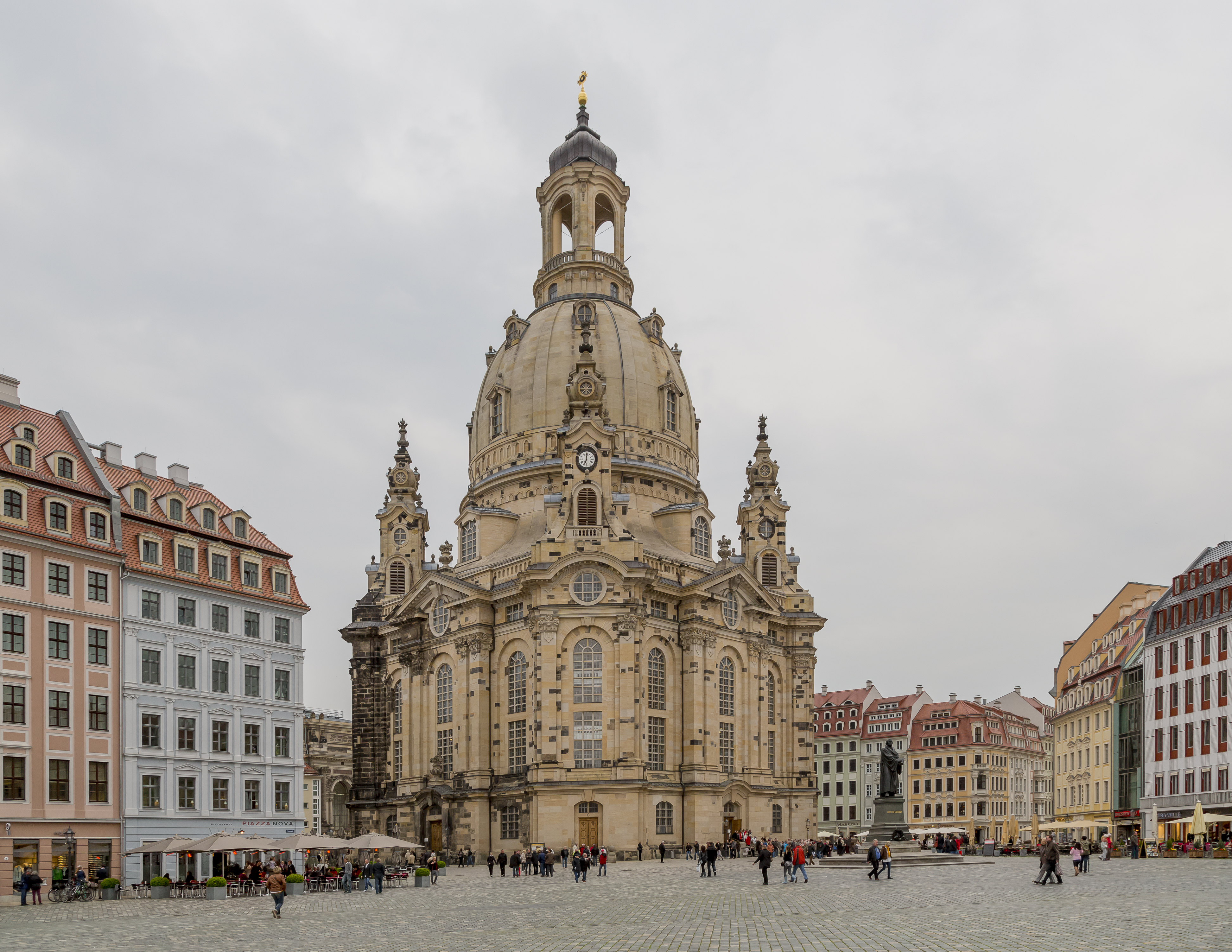 Frauenkirche (Dresde) - Wikipedia, la enciclopedia libre