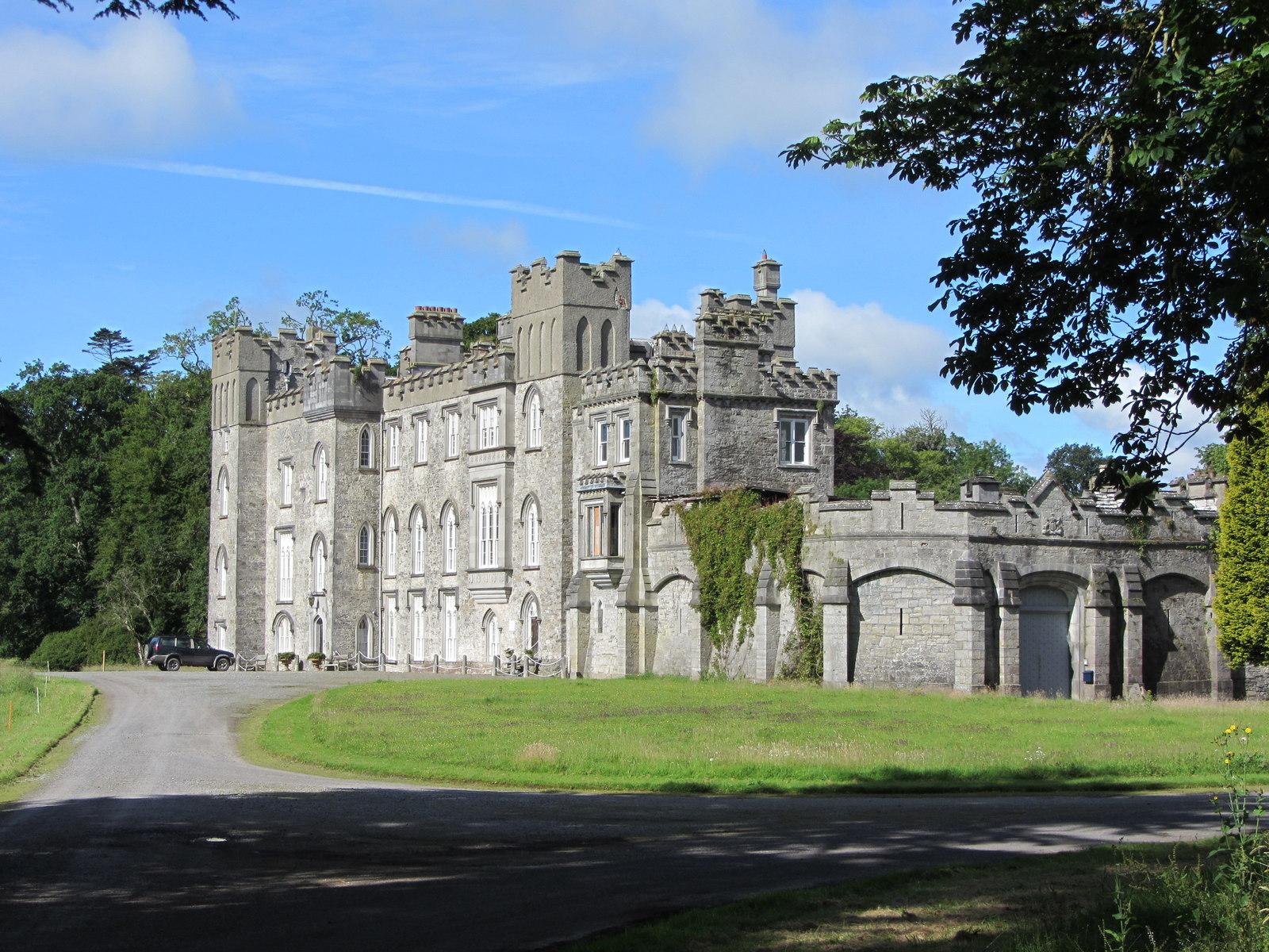 Dunsany Castle on a sunny day