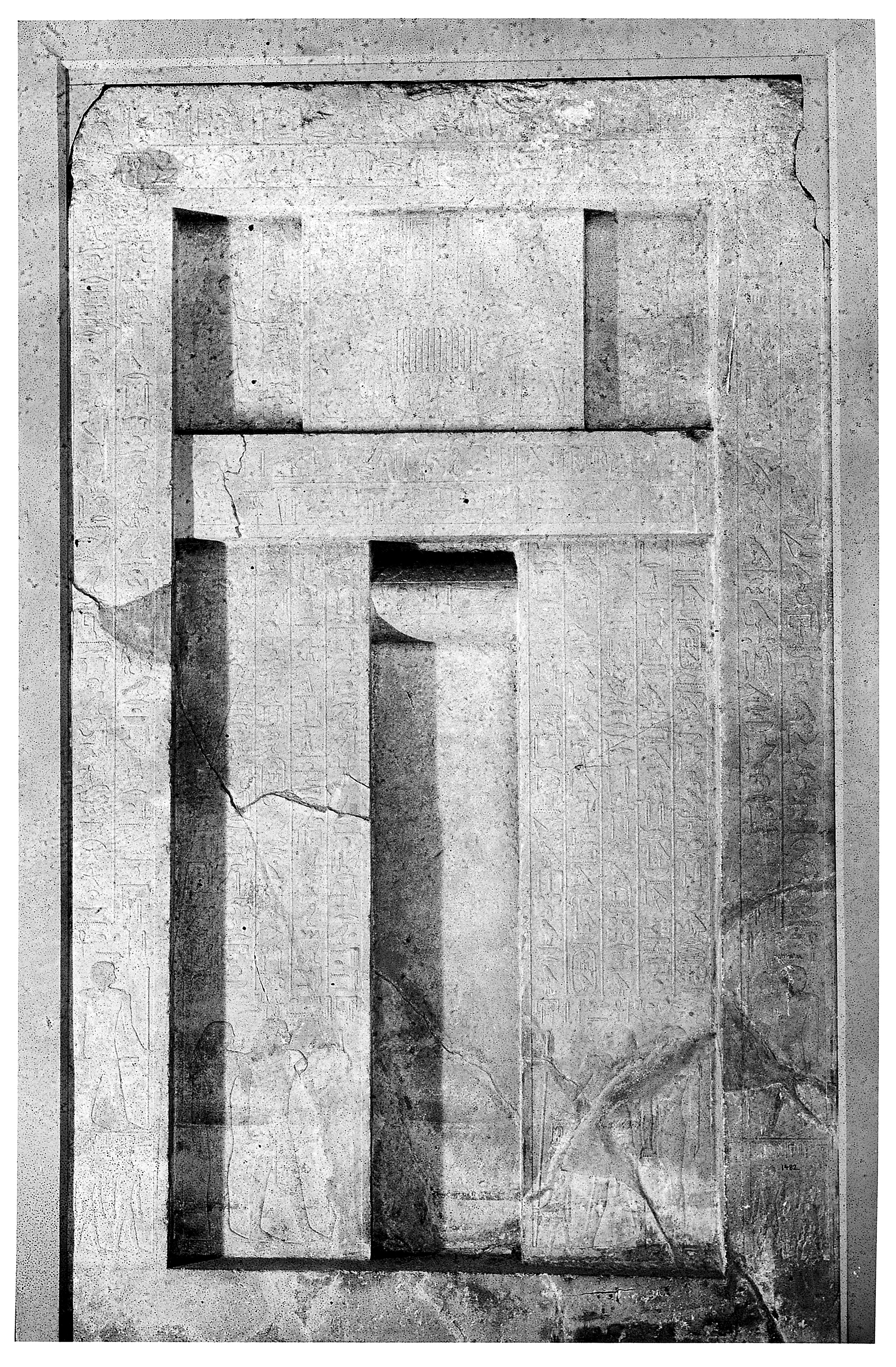 FileEgypt The false door of the tomb of the physician of King Wellcome & File:Egypt The false door of the tomb of the physician of King ...