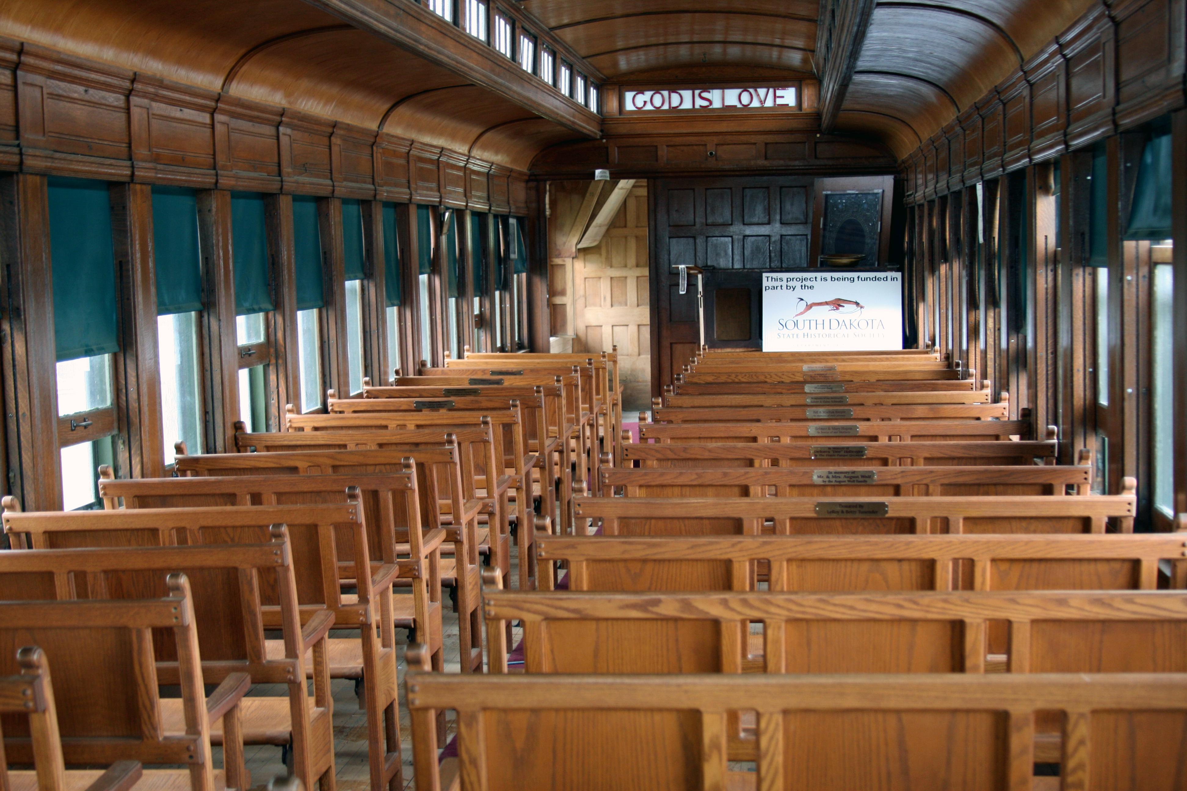 Chapel Train Car