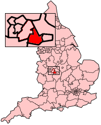 Shown within West Midlands