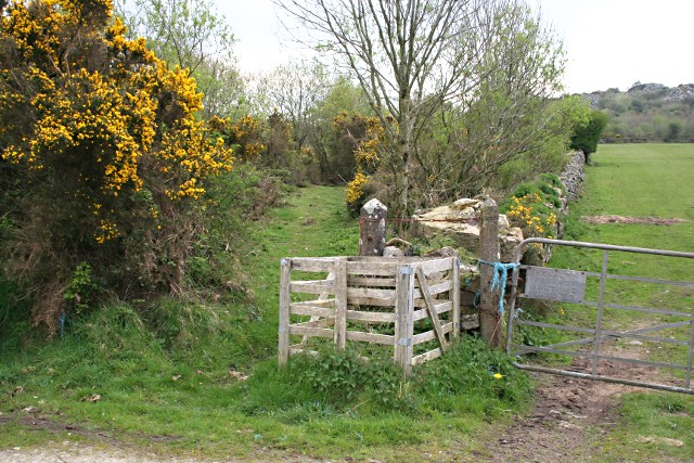 Entrance to Kit Hill - geograph.org.uk - 1265660