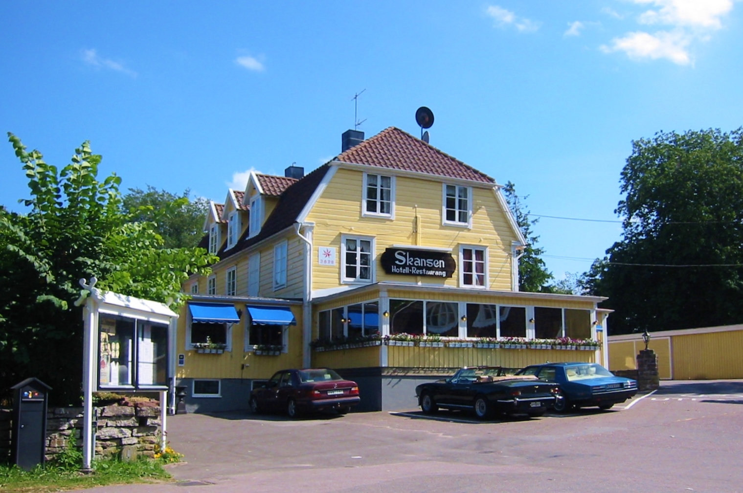 HOTELL SKANSEN FÄRJESTADEN