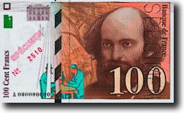 100 Franc Vorderseite