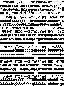 Fixedsys字体