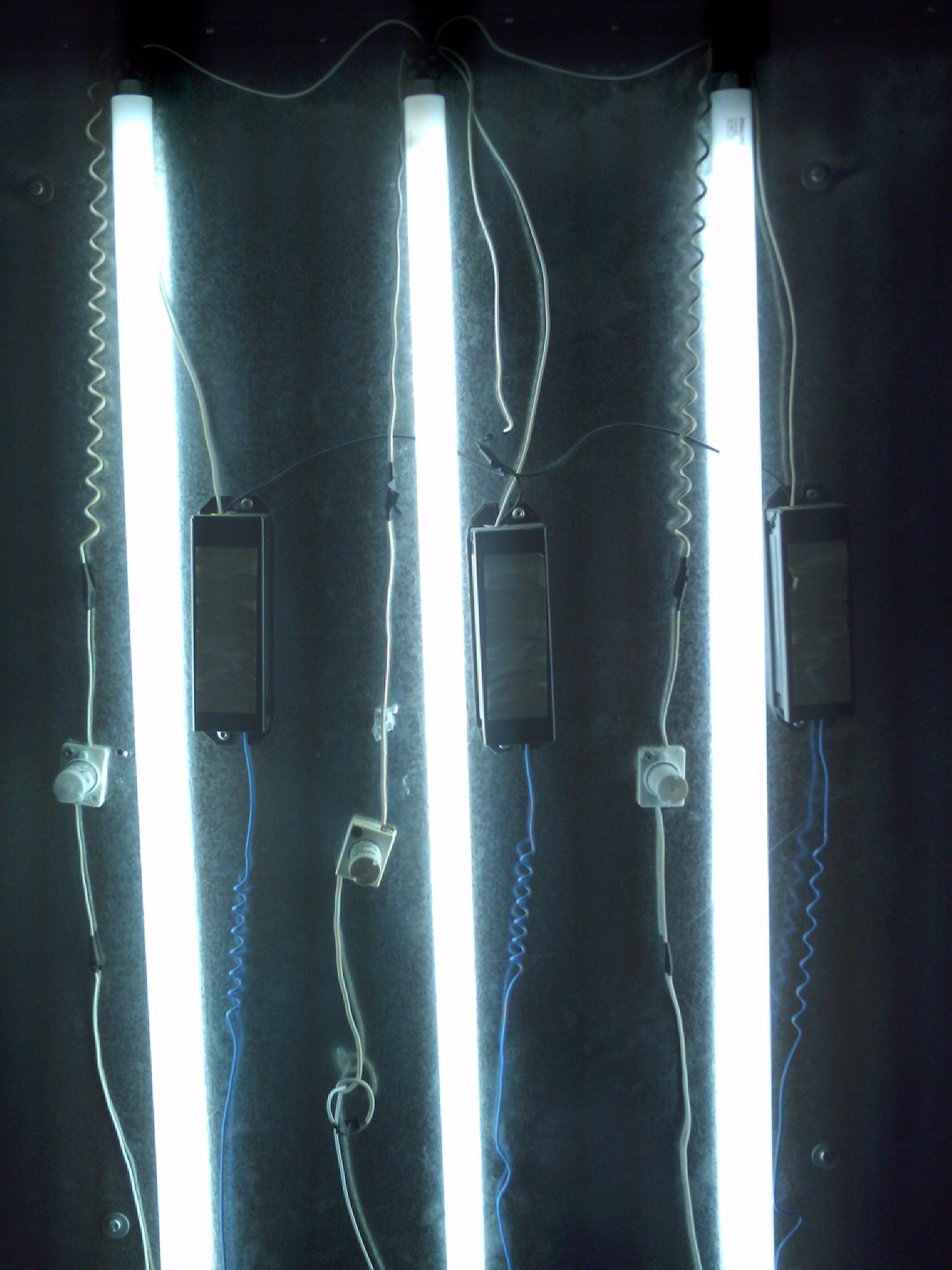 Luminarias fluorescentes