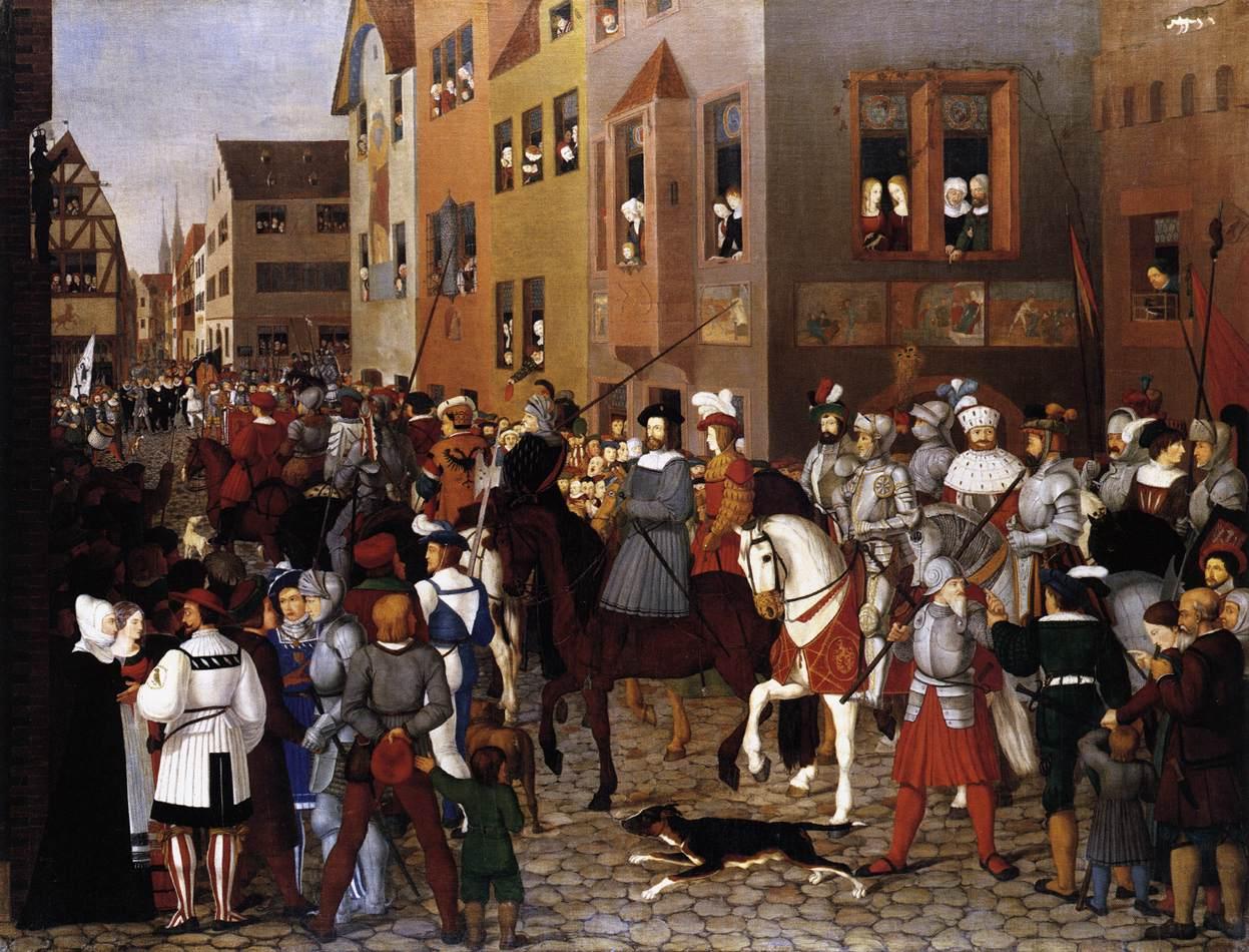 ファイル franz pforr the entry of emperor rudolf of habsburg into