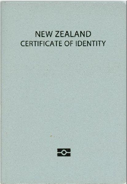 Development of a new zealand identity
