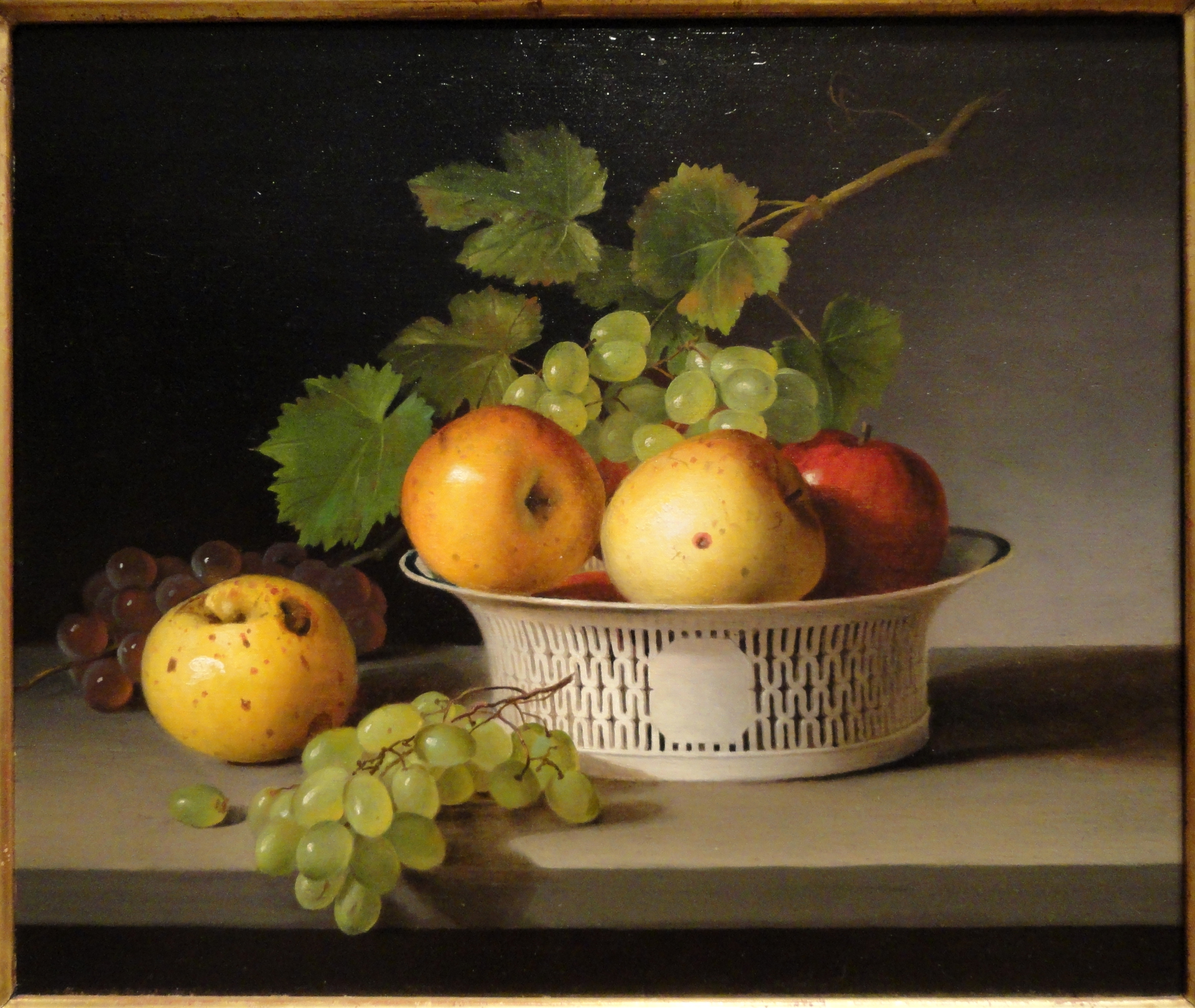 File:Fruit Still Life with Chinese Export Basket by James ...